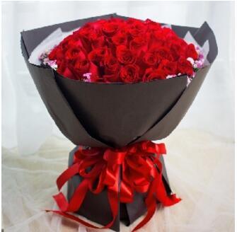 299元【秒杀】520特供:520就是爱你--99枝精品玫瑰花束