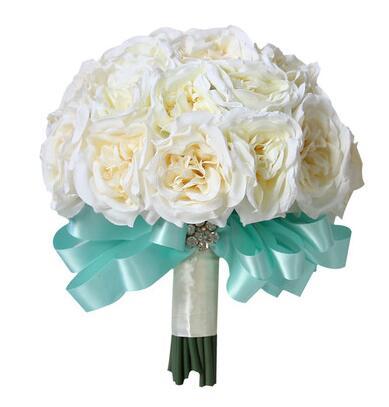 珠联璧合 21枝精品白玫瑰