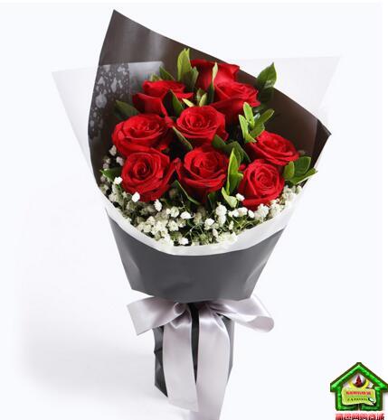 66元【秒杀】520特供:爱你唯一  11枝精品红玫瑰